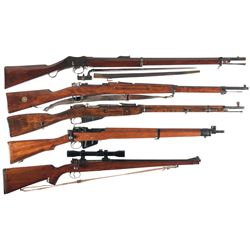 Five Rifles