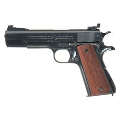 U.S. Navy Colt Model 1911A1 Semi-Automatic Pistol with Target Sights and Box