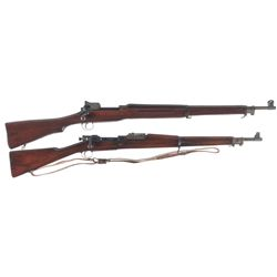 Two U.S. Bolt Action Rifles
