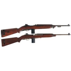 Two M1 Semi-Automatic Carbines