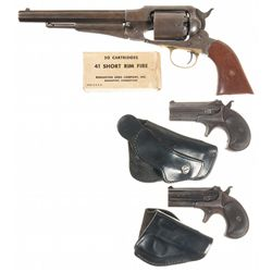 Three Remington Handguns
