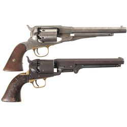 Two Percussion Revolvers