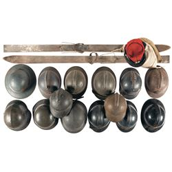 Collection of European Military Helmets