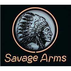 Savage Arms Neon Sign