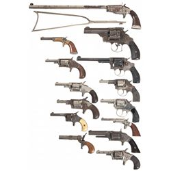 Collectors Lot of Fourteen Hand Guns