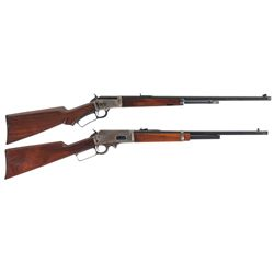 Two Marlin Lever Action Rifles