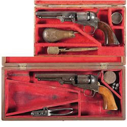 Two Cased Colt Percussion Revolvers