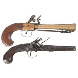 Two Flintlock Pistols