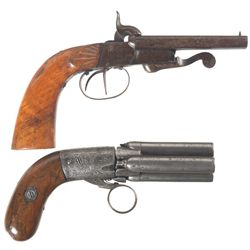 Two Antique Pistols