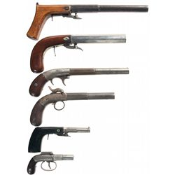 Six Percussion Pistols