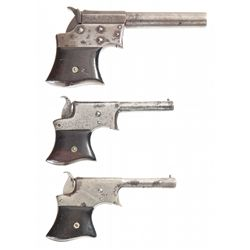 Three Remington Pocket Pistols