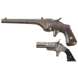 Two Antique Handguns