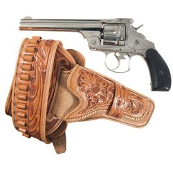 Smith & Wesson First Model Double Action Revolver with Holster and Belt Rig