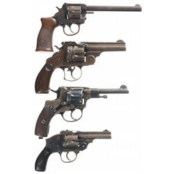 Four Double Action Revolvers