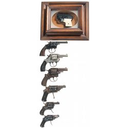 Six Revolvers  and One Starter Pistol