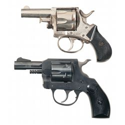 Two Double Action Revolvers