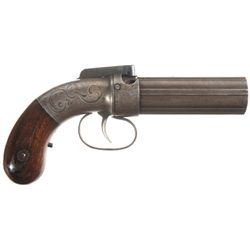 Allen & Thurber Medium Frame Pepperbox Pistol