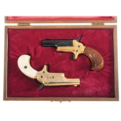 Cased Pair of Lord & Lady Colt Derringers