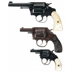 Three Double Action Revolvers