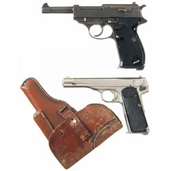 Two Nazi Proofed Semi-Automatic Pistols