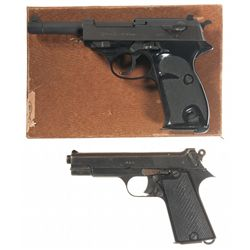 Two Foreign Semi-Automatic Pistols