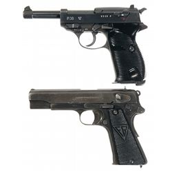 Two Nazi Semi-Automatic Pistols