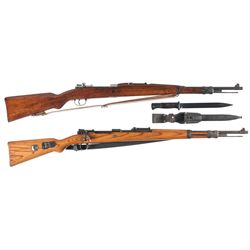 Two Bolt Action Rifles