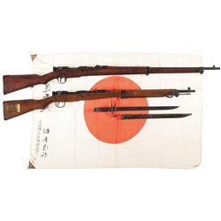 Two Military Bolt Action Military Rifles