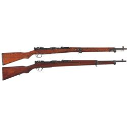 Two Japanese Bolt Action Rifles