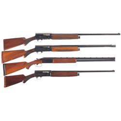 Four 12 Gauge Shotguns