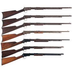 Collector's Lot of Seven Winchester Slide Action Rifles