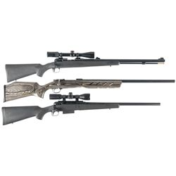 Three Bolt Action Firearms