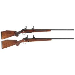 Two Tikka Bolt Action Rifles