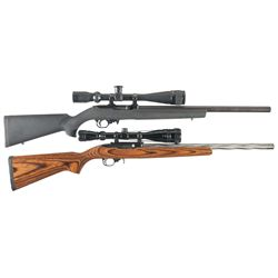 Two Ruger Model 10/22 Semi-Automatic Carbines