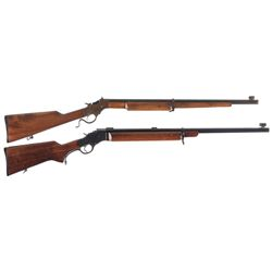Two Stevens Single Shot Rifles
