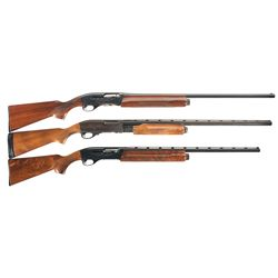 Three Remington Shotguns