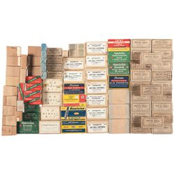 Large Grouping of Boxed Rifle and Pistol Ammunition