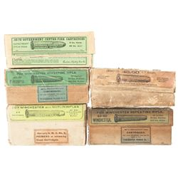 Five Boxes of Vintage Ammunition