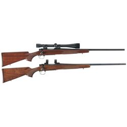 Collector's Lot of Two Remington 700 Bolt Action Rifles
