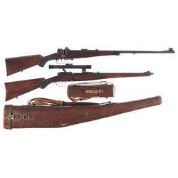 Two German Bolt Action Rifles