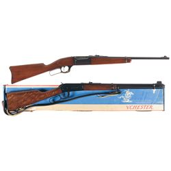 Two Lever Action Carbines