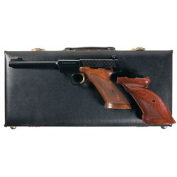 Browning Challenger Semi-Automatic Pistol with Case and Extra Grip