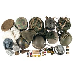 Grouping of Miscellaneous Items, Mostly Military Related