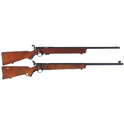 Two U.S. Mossberg Bolt Action Training Rifles