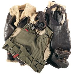 Grouping of WWII U.S. Flight Gear