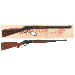 Two Lever Action Long Guns