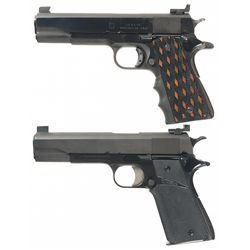 Two U.S. 1911 Semi-Automatic Pistols