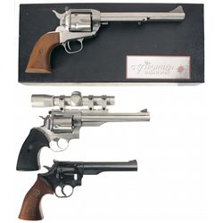 Collector's Lot of Three Revolvers