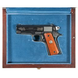 "Cased Colt Series 80 ""Officer's Commencement Issue"" Pistol"