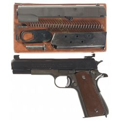 U.S. Property Marked Remington Rand Model 1911A1 Semi-Automatic Pistol with Colt Slide and Extra Par